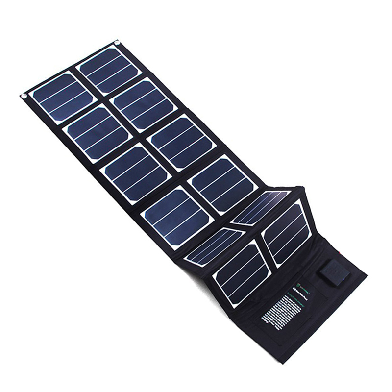 65w Outdoor Good Safety Performance 100w For Hiking Hanging Bendable Monocrystal Solar Panel On Grid