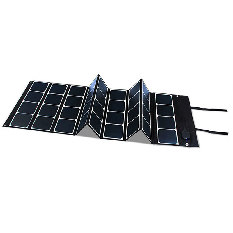 80w Charger Kit Power Box Waterproof Blanket Foldable Batterycharger 60w Solar Panel Battery