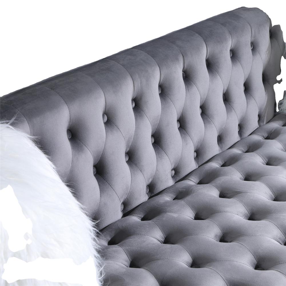 2021 Newest Luxury classic tuftedvelvet fabric sofa