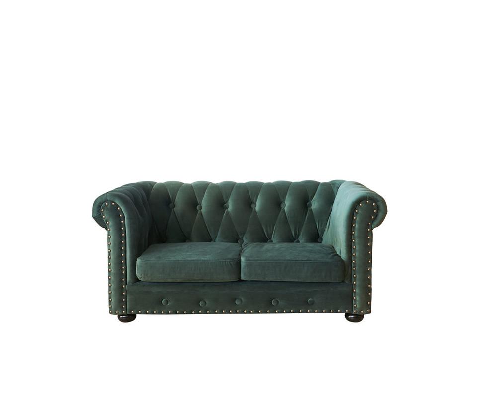 living room furniture chesterfield sofa velvet fabric chair for kids
