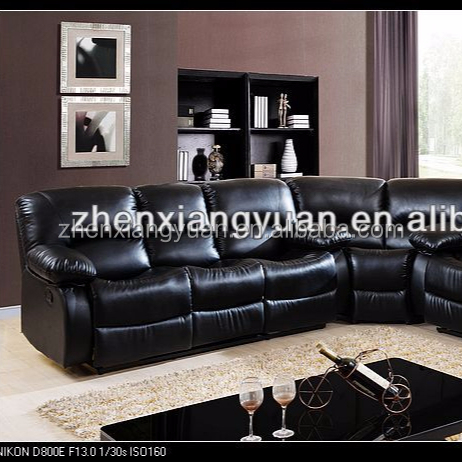 2021 Living room furniture sofas faux leather Reclining recliner corner Sofa