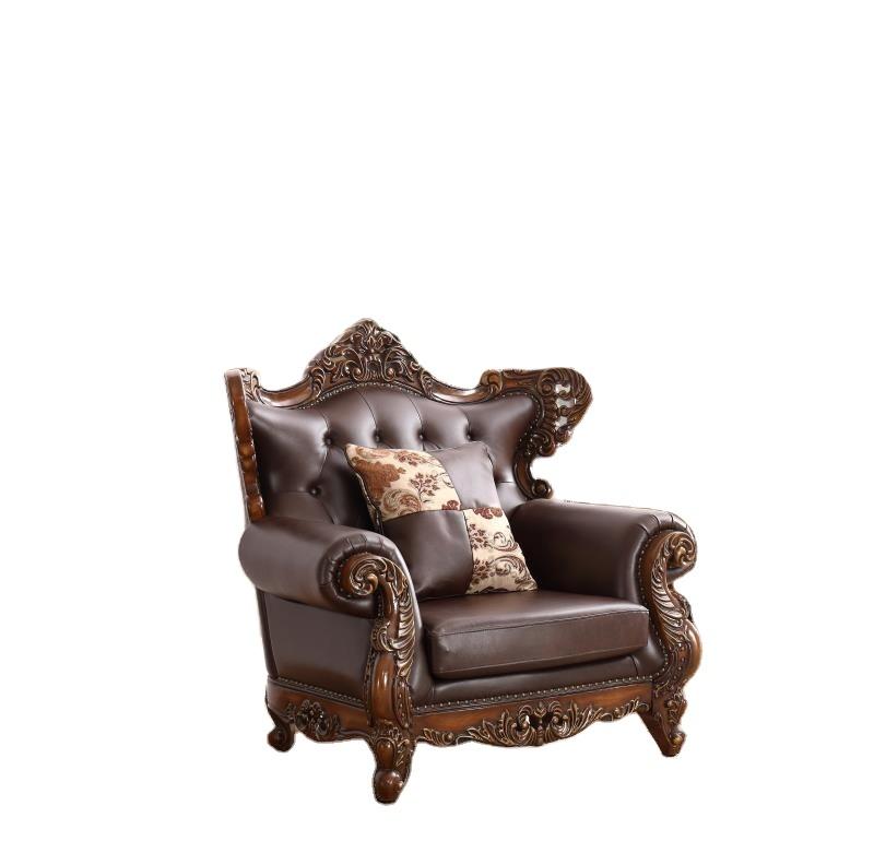 2021 Living room sofas classic sofa set antique leather sofas