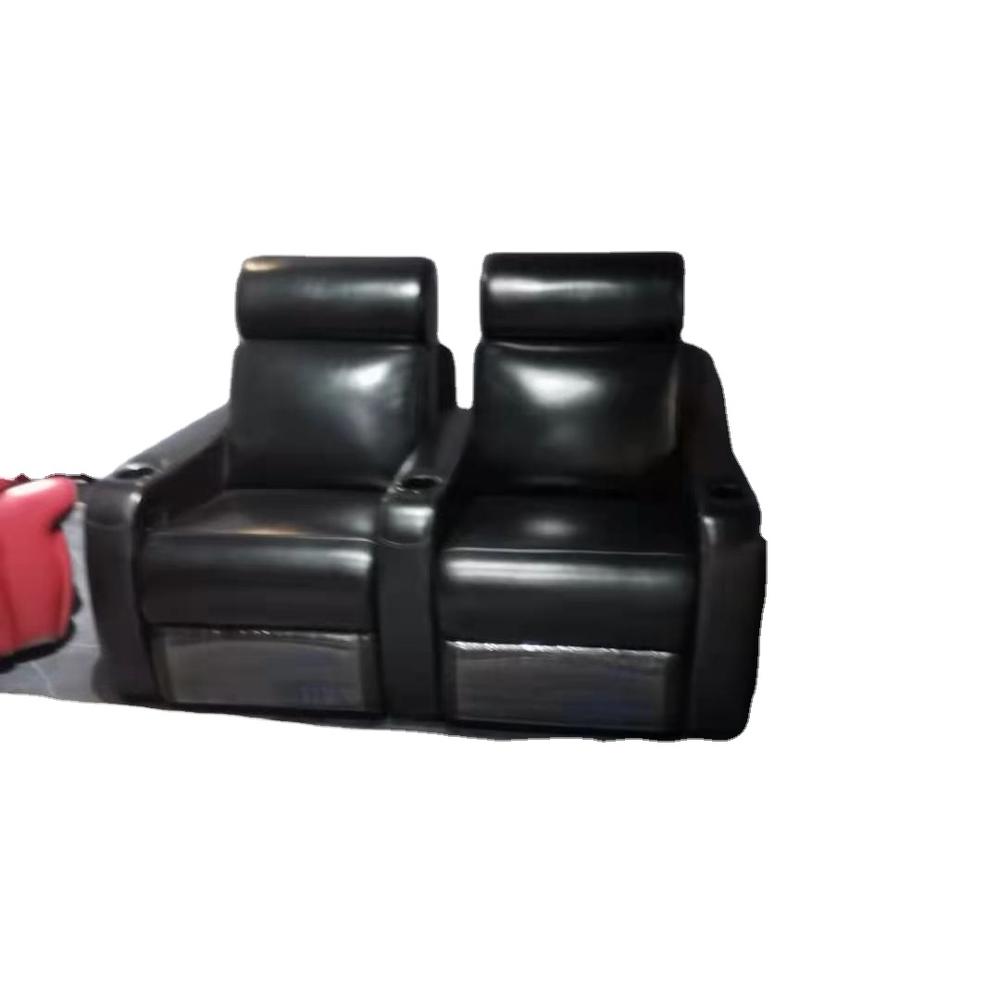 2021 newest Movie grain leather Chair Home Cinema Seating Theatre Sofa
