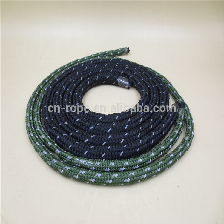 New packing 8mm nylon braided Reflective tent rope