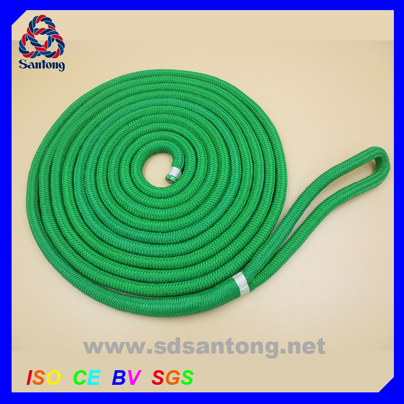 New packing 8mm HMHDPE braided Reflective tent rope