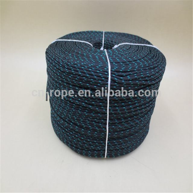 Supply pp 16-strand braided tent rope for camping usage