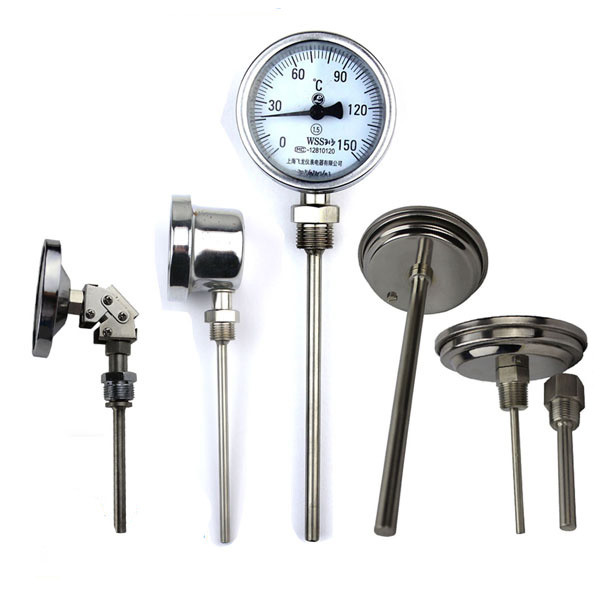 60mm 100mm 150mm dial temperature gauge and Bimetal Thermometer