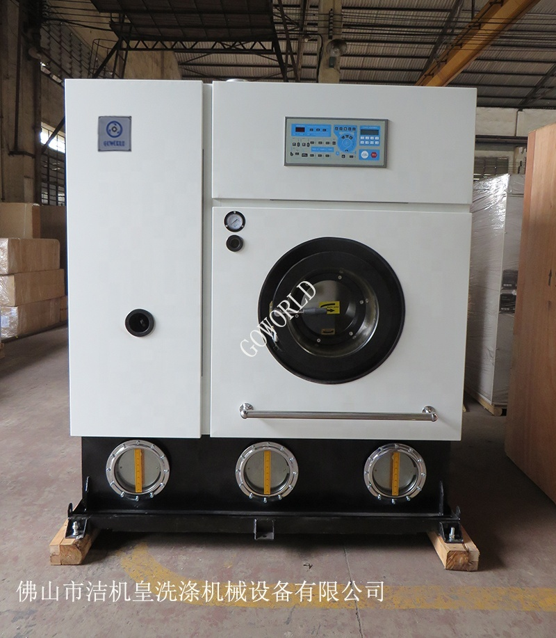 hot sale steam style full-auto perc dry laundry clean machine