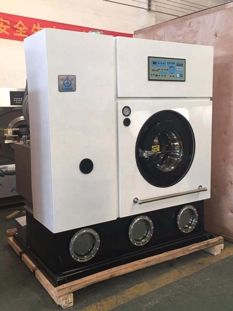 20kg steam style dry cleaner equipment,laundry machine factory