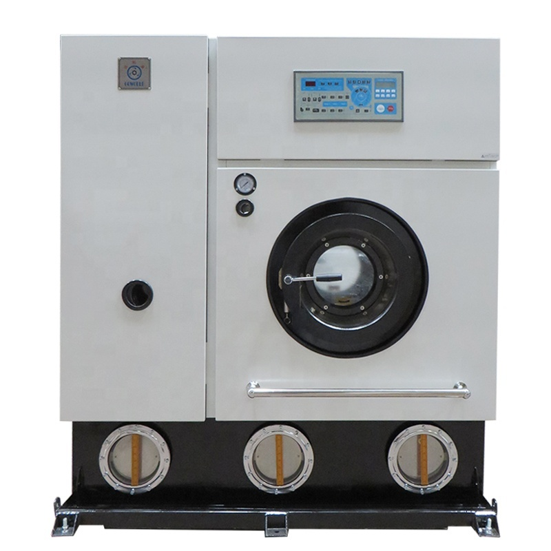14KG electric type automatic laundry dry cleaner machine for Ecuador market