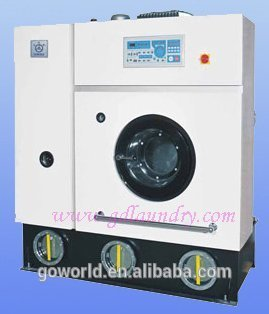 12KG steam style full-auto perc laundry shop dry cleaning machine for Spain