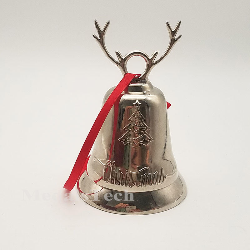 In stock Large size christmas bell with jingle bell decoration/gifts