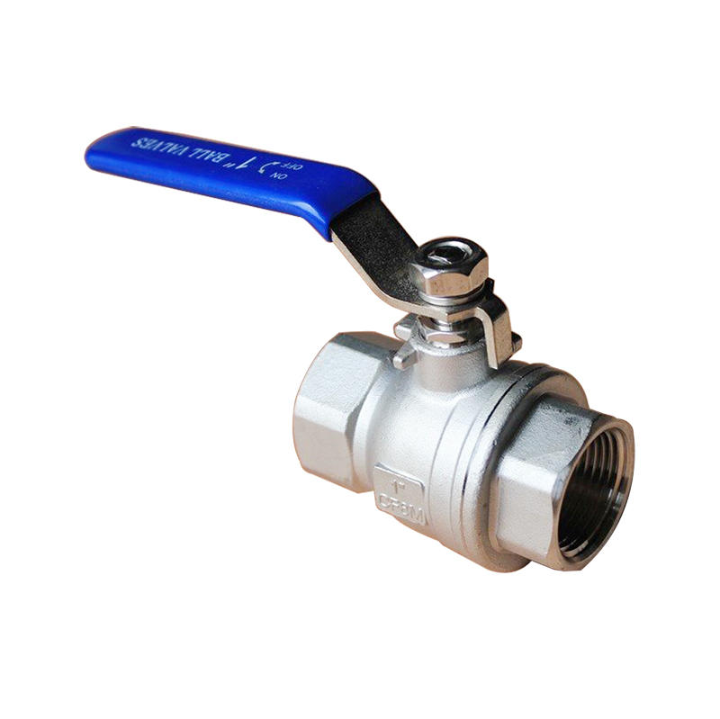 Slivery CF8M 2PC 1000 WOG BSP Economical Stainless Steel Ball Valve