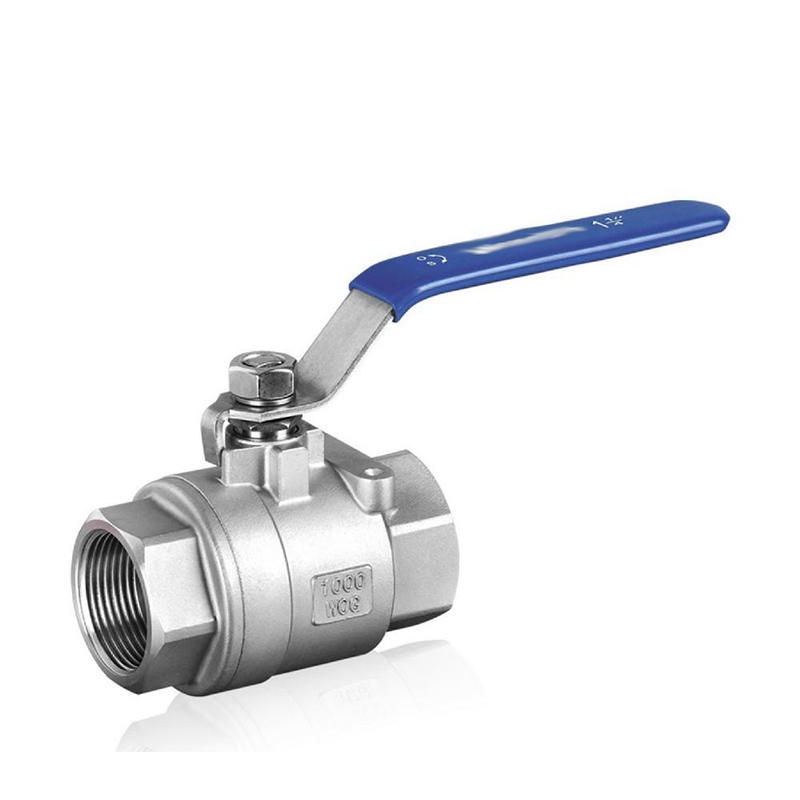 2PC 1000 WOG BSP Thread CF8M Manual Locking Device Stainless Steel Ball Valve