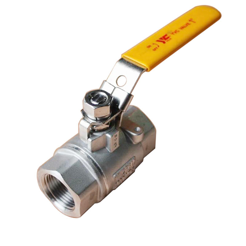 SS316 CF8M WCB 2PC 2000 WOG BSP Thread Manual Stainless Steel 304 Ball Valve