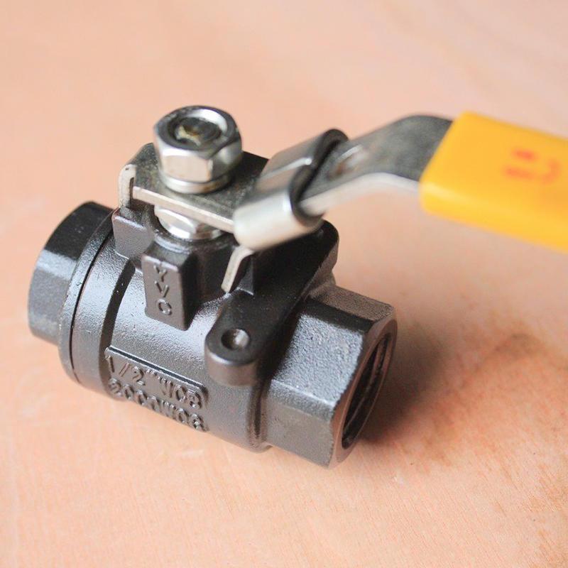 SS316 CF8M WCB 2PC 2000 WOG BSP Thread Manual Stainless Steel 304 Ball Valve