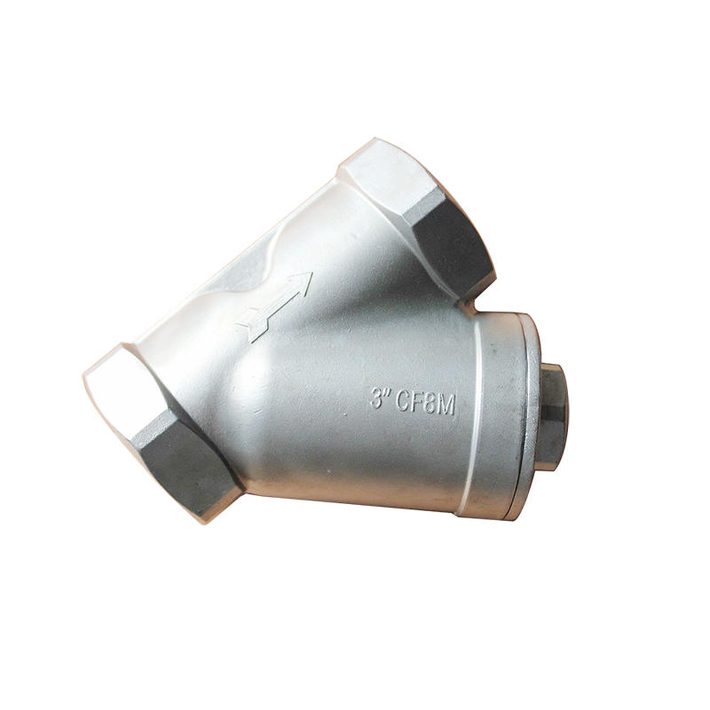 SY11 SS304 SS316 Y Filter Fitting Female Y Type Stainless Steel Strainer