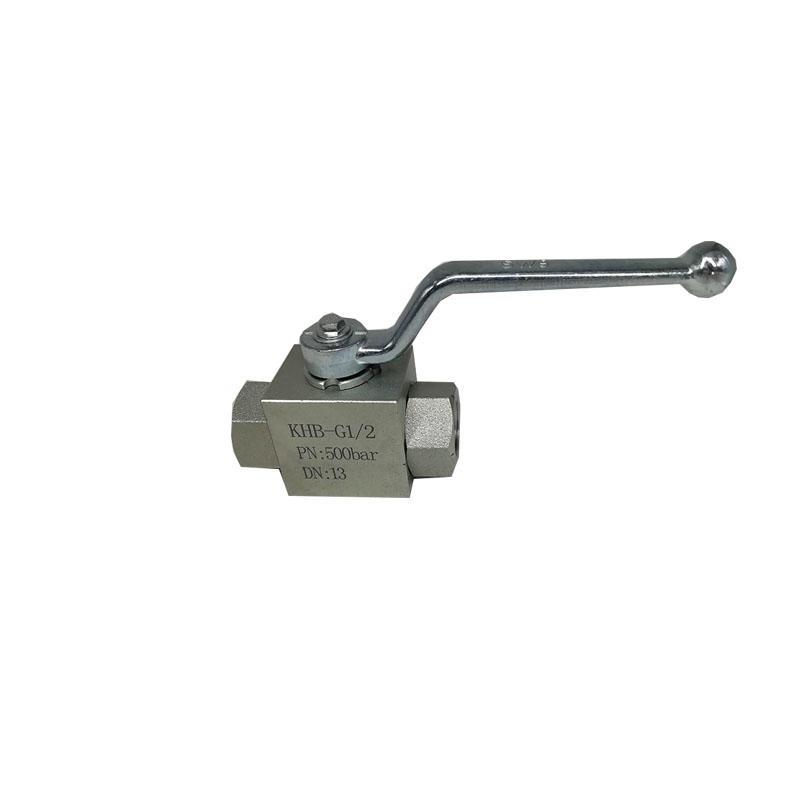 Automation componentHydraulic silk valve KHB-G1-2 1/2 inchHigh pressure ball valve