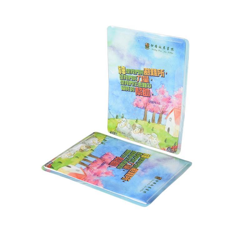 Promotion Product For Students Custom-Made PP Plastic Homework Folder