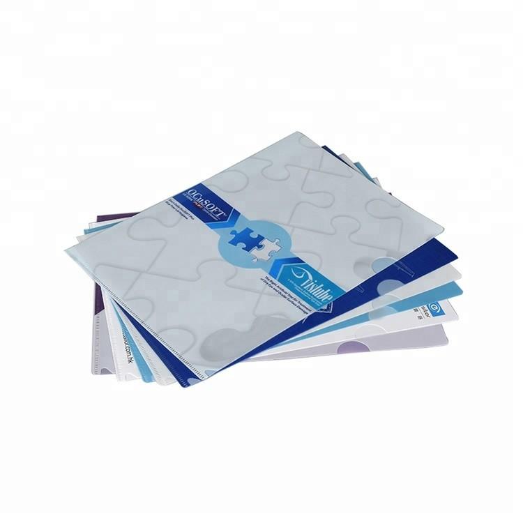 Top Quality Plastic PP File Folder Custom A4 Clear File Folder