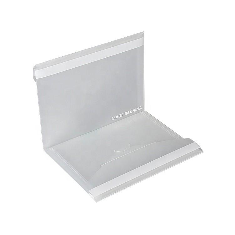 Wholesale Customize Fashion Handmade Clear Plastic Business Document File Folders