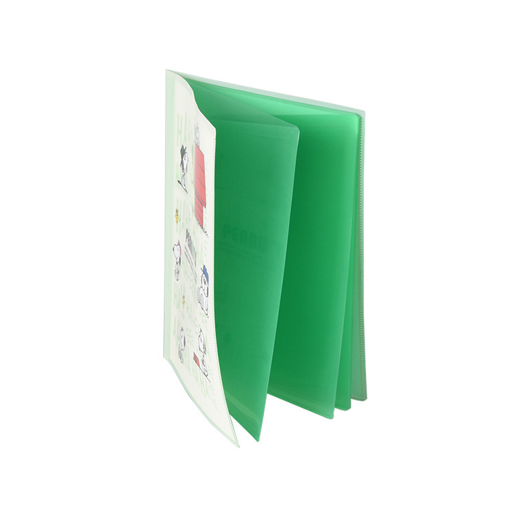 High Quality 10 Pages Clear Pp Display File Documents Book with Custom Insert Page