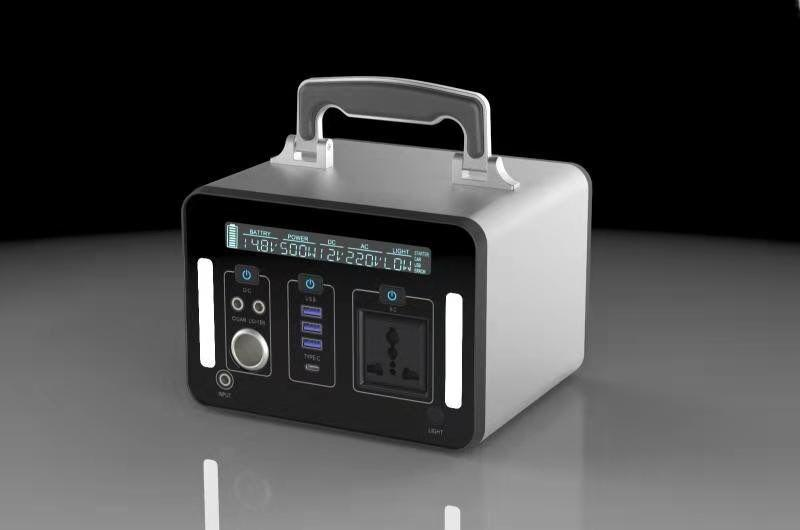 High quality 1000Wh large capacity black energy saving lithium battery portable solar generator
