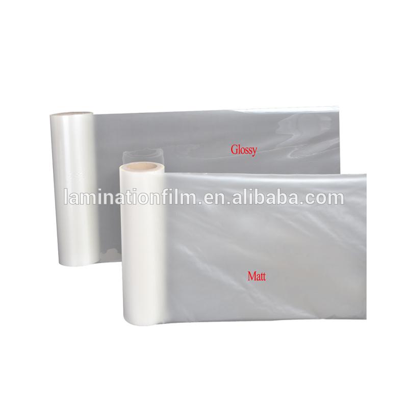 Printing and packaging Glossy&Matt BOPP Thermal Lamination Film