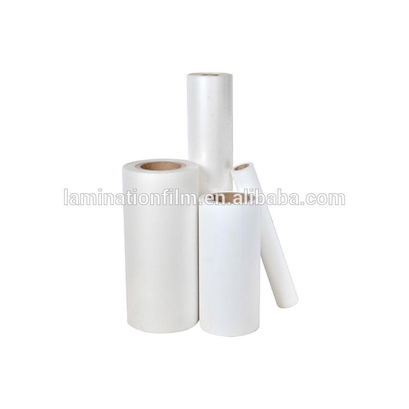 Matte Bopp thermal lamination film/micron stretch A3+ Size 32cm*25mic*200m