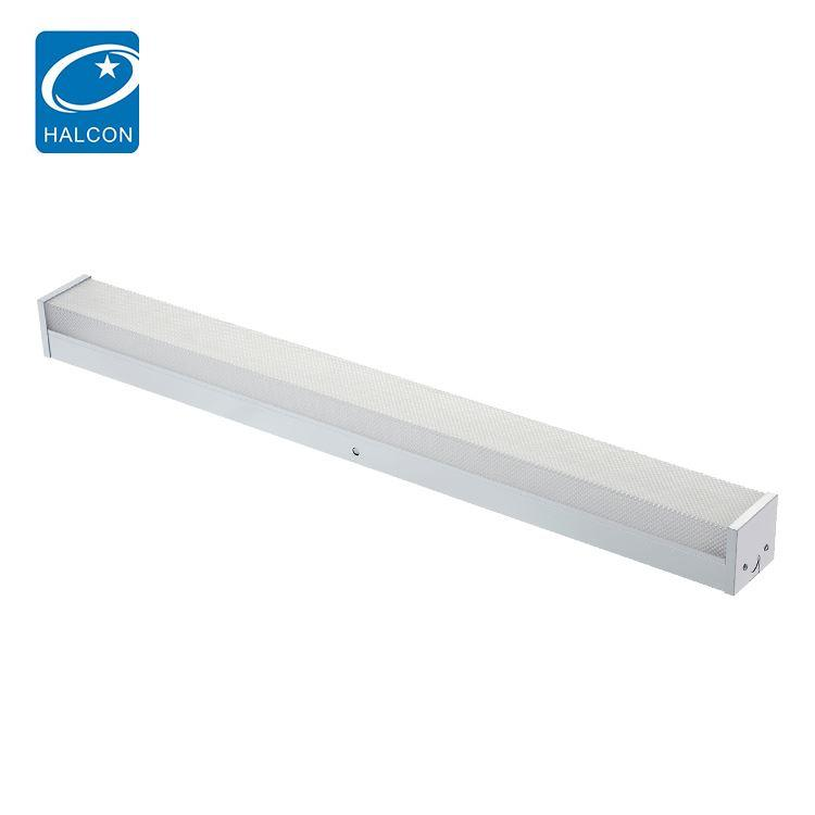 commercial stairwell light 2ft 8ft 18 25 36 45 wattprismatic lens linear 4ft led wraparound light fixture
