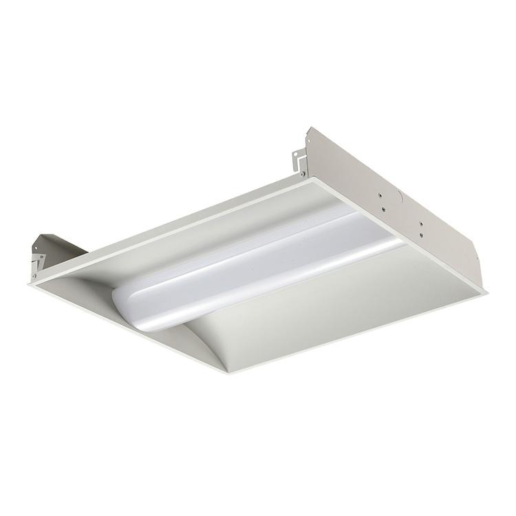 Surface mounted school hospital lighting smd 24w 36w 42w 50w Led Recessed Troffer