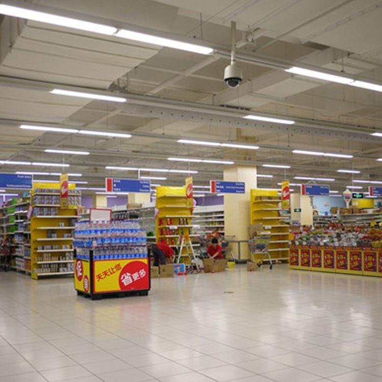 Office ceiling mounted surface 18w 24w 36w 63w 85w batten strip led emergency light