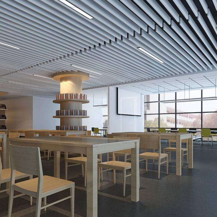 New style corridor office dimming 18 24 36 63 85 w led batten lamp