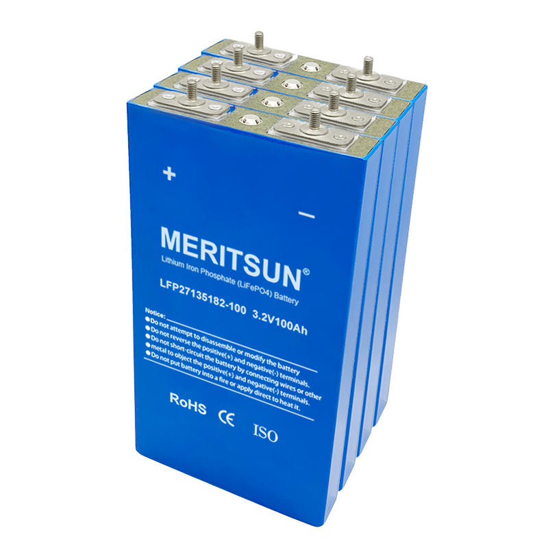 Prismatic aluminum 3.2v 100ah lifepo4 battery cell deep cycle lithium cells