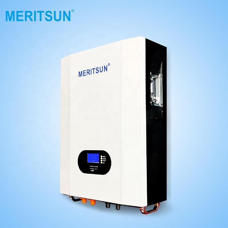 MeritSun Powerwall Home LifePO4 Lithium Battery 48v 200ah 10kwh Powerwall Battery
