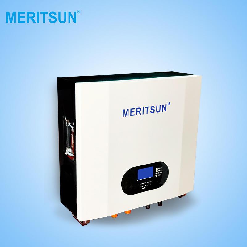 2020 New Patented Technology MeritSun Powerwall 10Kwh Lithium Battery Power Storage Powerwall Home Battery