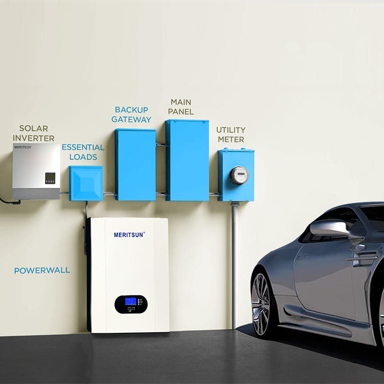 2020 New Fashion MeritSun Powerwall 10Kwh48V 200Ah Lithium Iron Phosphate Battery
