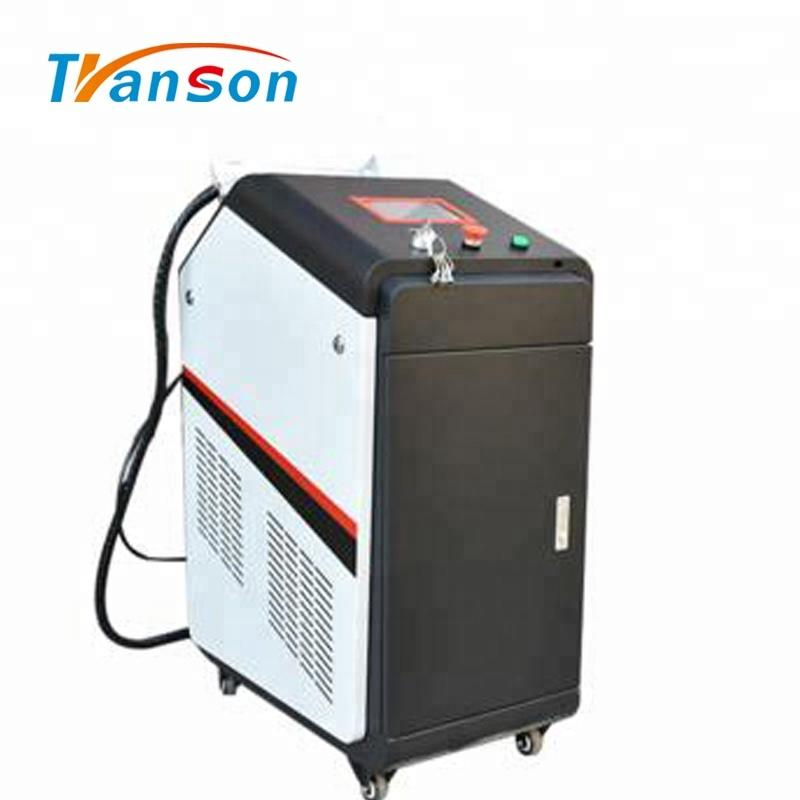TRANSON CNC Factory Rust Removal 100W Fiber Laser Clean Metal Machine
