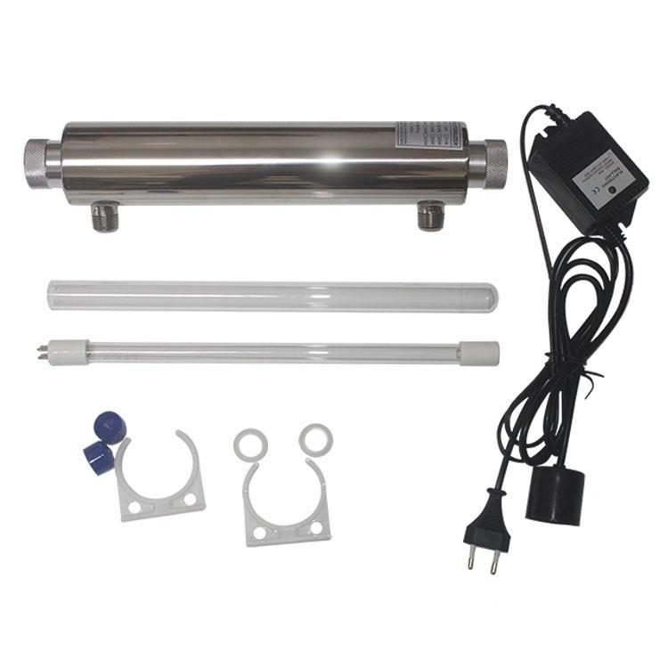 10W water treatment uv system ultraviolet water industrial uv sterilizer