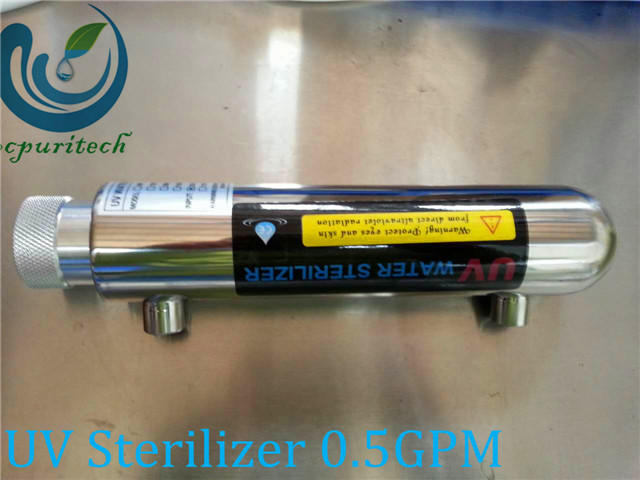 16W water treatment uv system ultraviolet water sterilizer