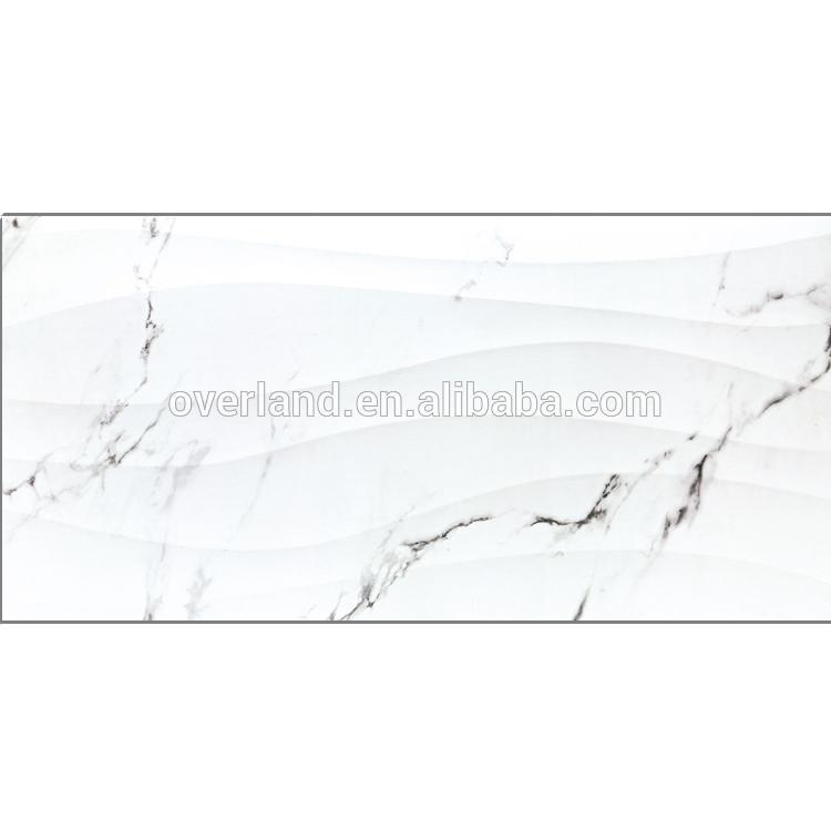 Foshan wavy white wall tile