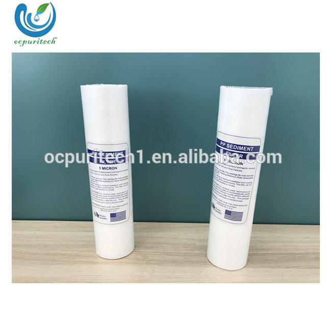 5 rounds pp melt blown filter cartridge machine for water ro system/PP sediment filter cartridge with 5 micro