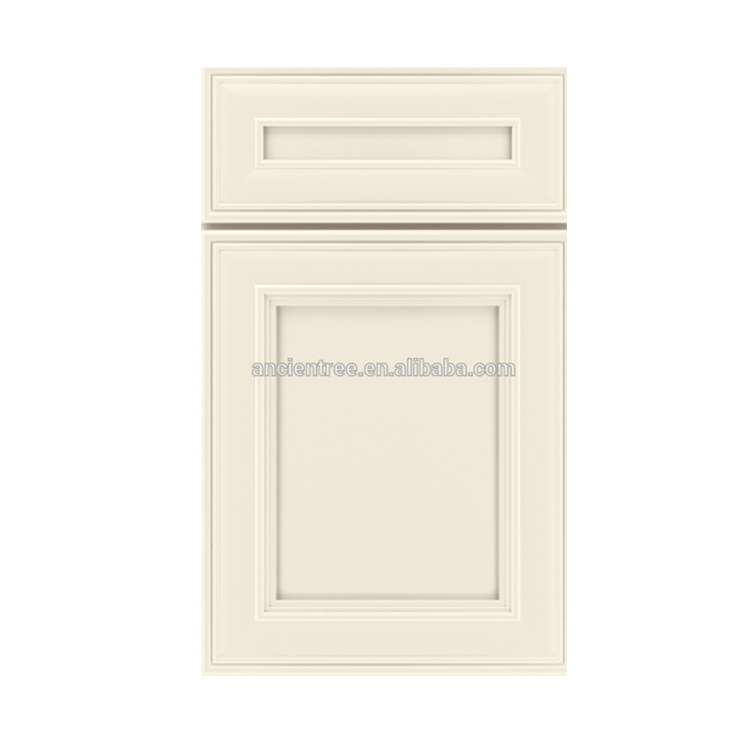 Best Sellers White Painted White Solid Wooden Kitchen Cabinet Doors