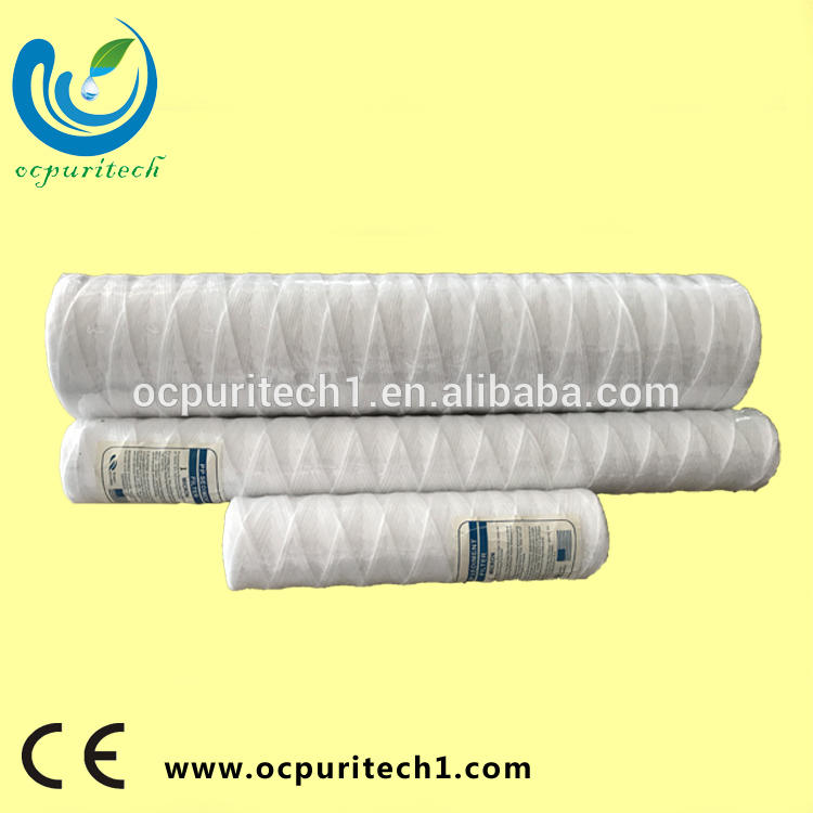 The cheapest refillable pp string wound water filter cartridge