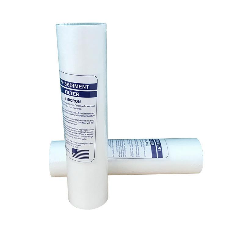 Domestic 5 Micron Polypropylene Sediment PP Water Filter Cartridge