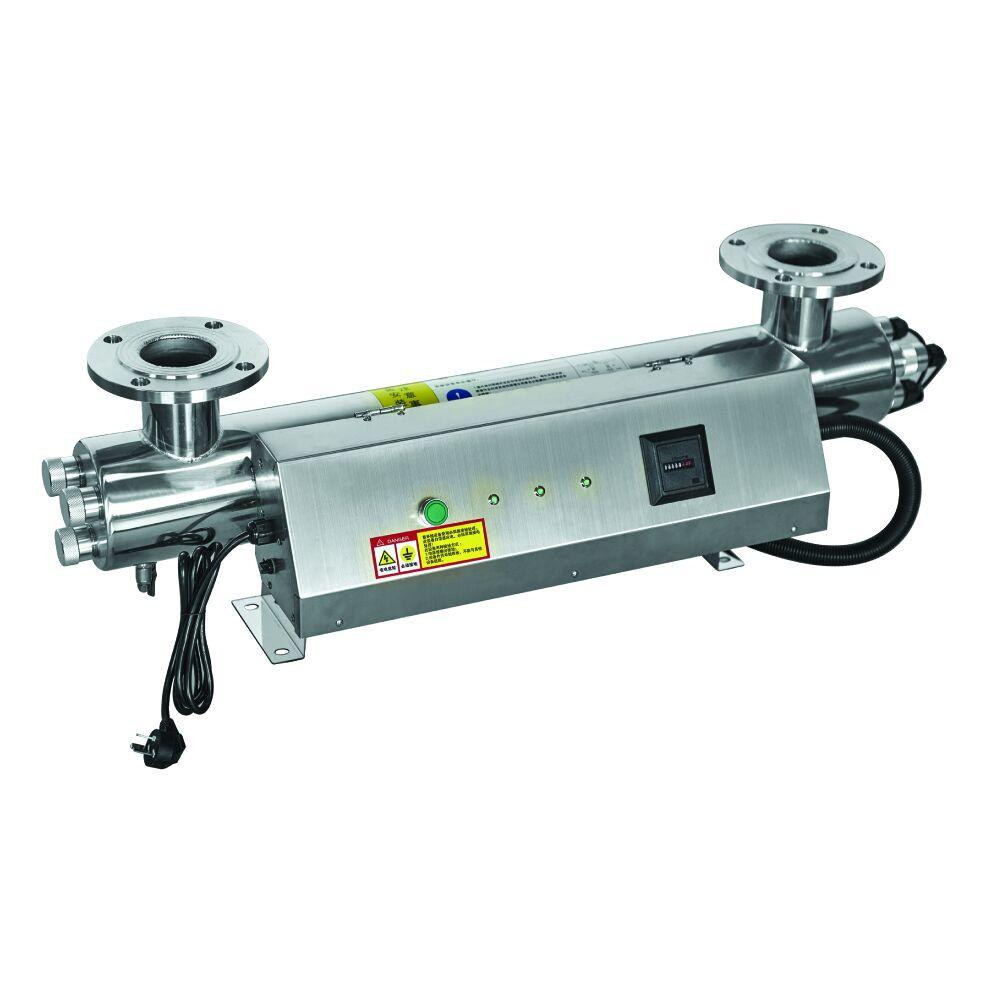 UV system with 240W 66GPMfor water treatment