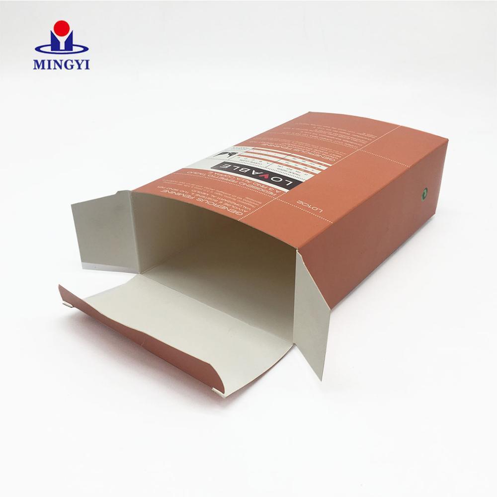 Fast Food Chocolate Packagingbox Kraft Paper Luxury Boxes Candle Lipstick Wig Caja Carton Product Custom Eyelash Packaging Box