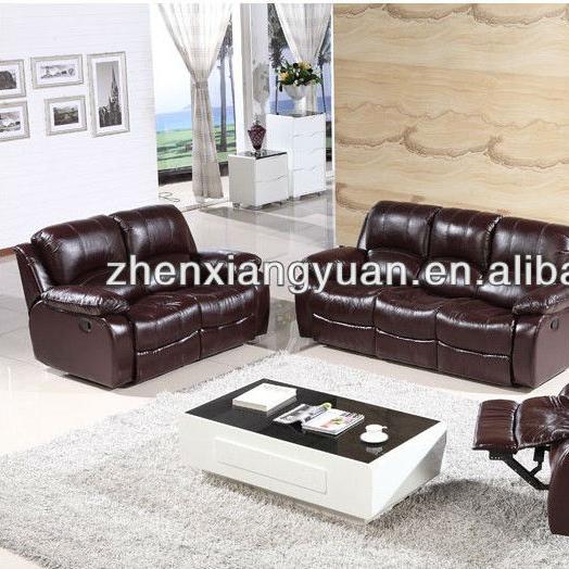 2019 Living room furniture Genuine leather recliner lazy boy sofa modern