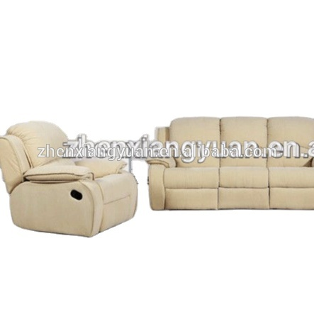 Newest foshan sofa living room sofa modern style recliner microfiber sofa