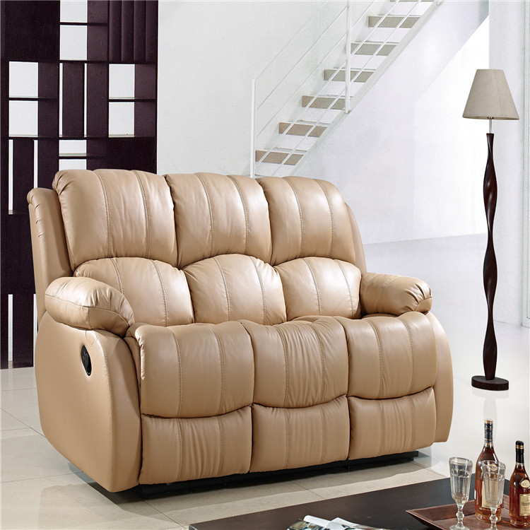 Living Room Sofa Modern Leather Recliner Sofa